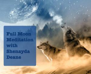 Full Moon Meditation - Super Blue Moon Celebration! @ TBA